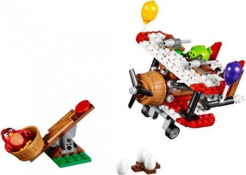LEGO 樂高積木 Angry Birds 憤怒鳥 75822 Piggy Plane Attack