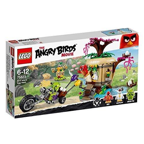 LEGO 樂高積木 Angry Birds 憤怒鳥 75823 Bird Island Egg Heist