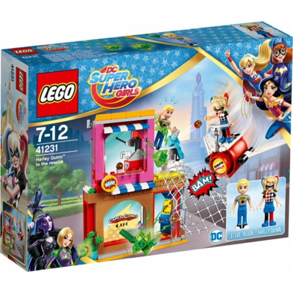 LEGO 樂高積木 DC Super Hero Girls系列 41231 Harley Quinn™ to the rescue