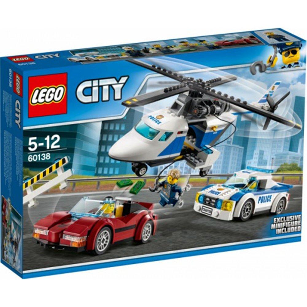 樂高積木LEGO City Police 系列 60138 高速追捕