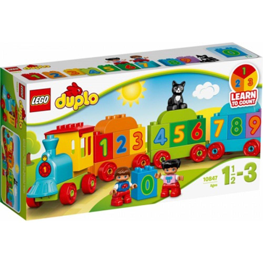 LEGO樂高積木 DUPLO My First 10847 數字火車