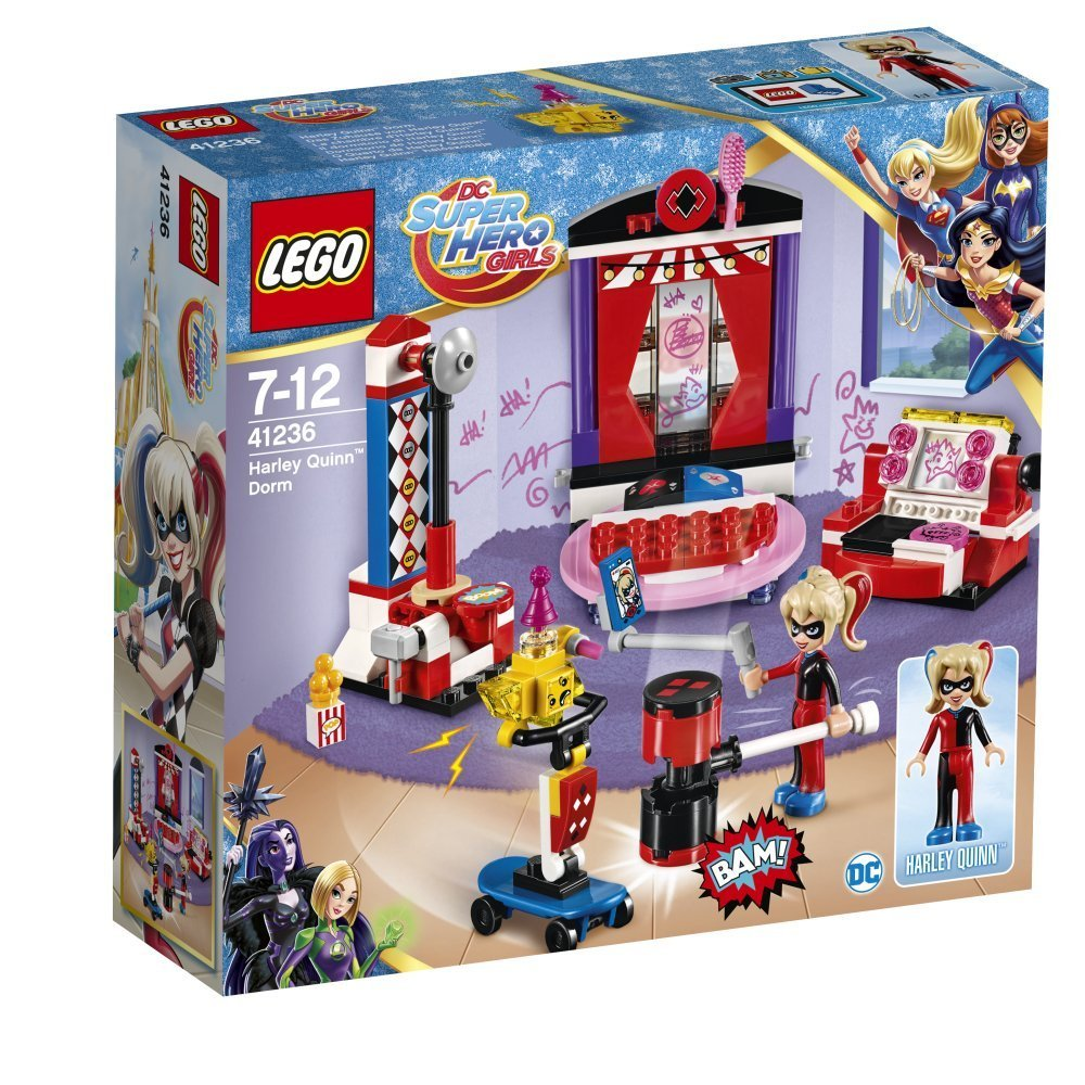 LEGO 樂高積木 DC Super Hero Girls系列 41236 哈雷奎因的宿舍