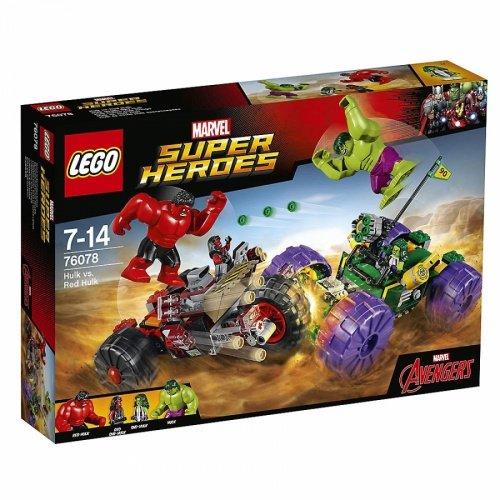 LEGO 樂高積木Super Heroes系列 76078 Hulk vs. Red Hulk