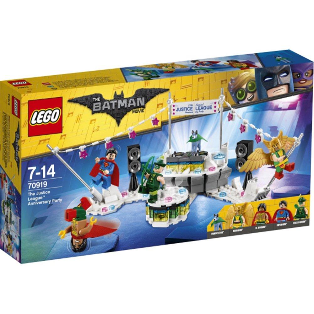 LEGO 樂高積木 Batman Movie系列 70919 正義聯盟 紀念派對