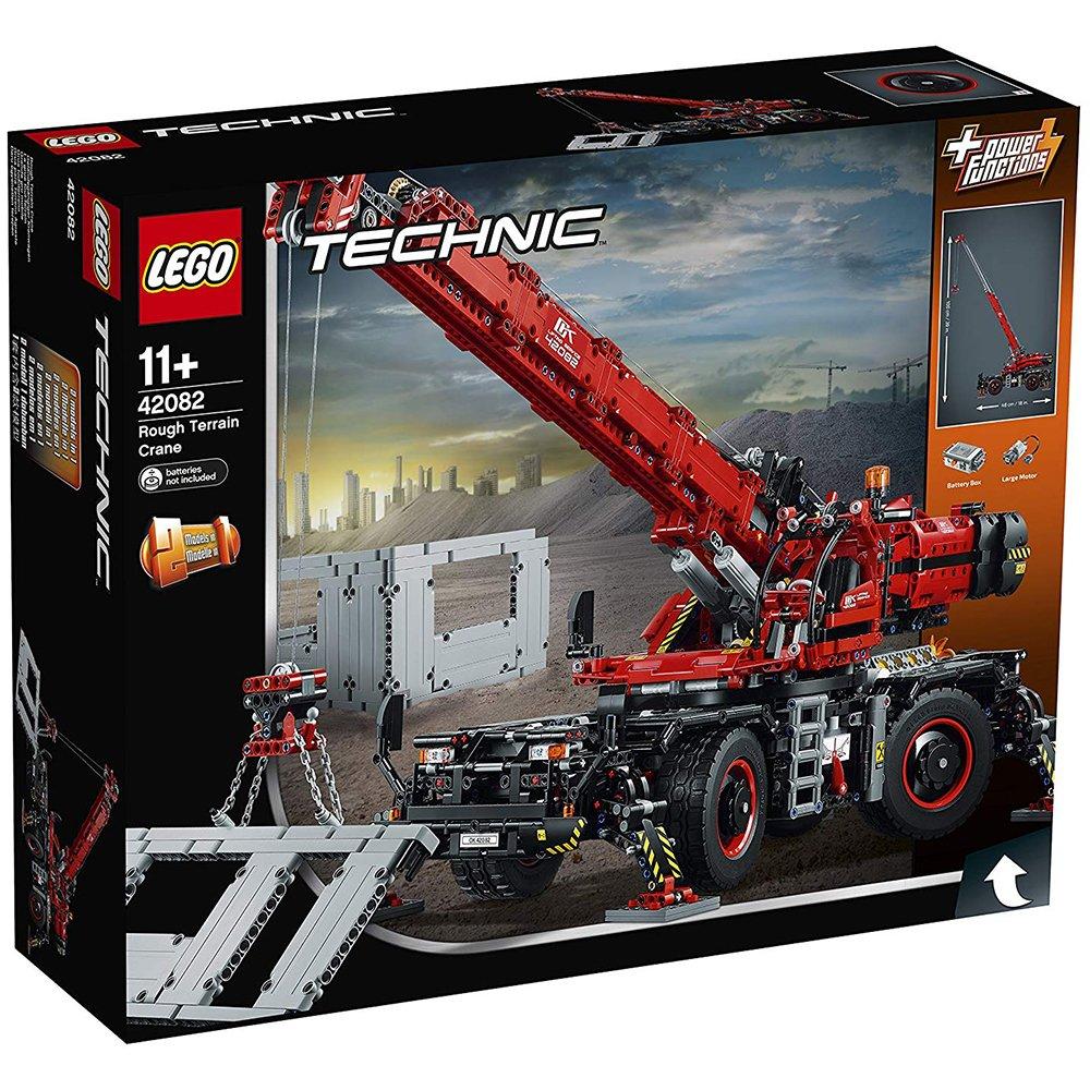 LEGO 樂高積木 Technic 42082 曠野地形起重機