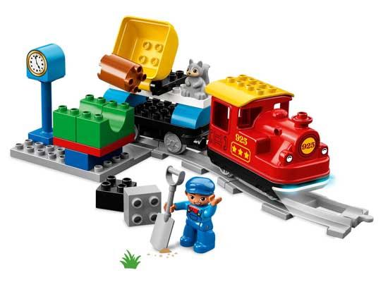 LEGO 樂高積木 得寶 DUPLO Town系列 10874 蒸汽列車
