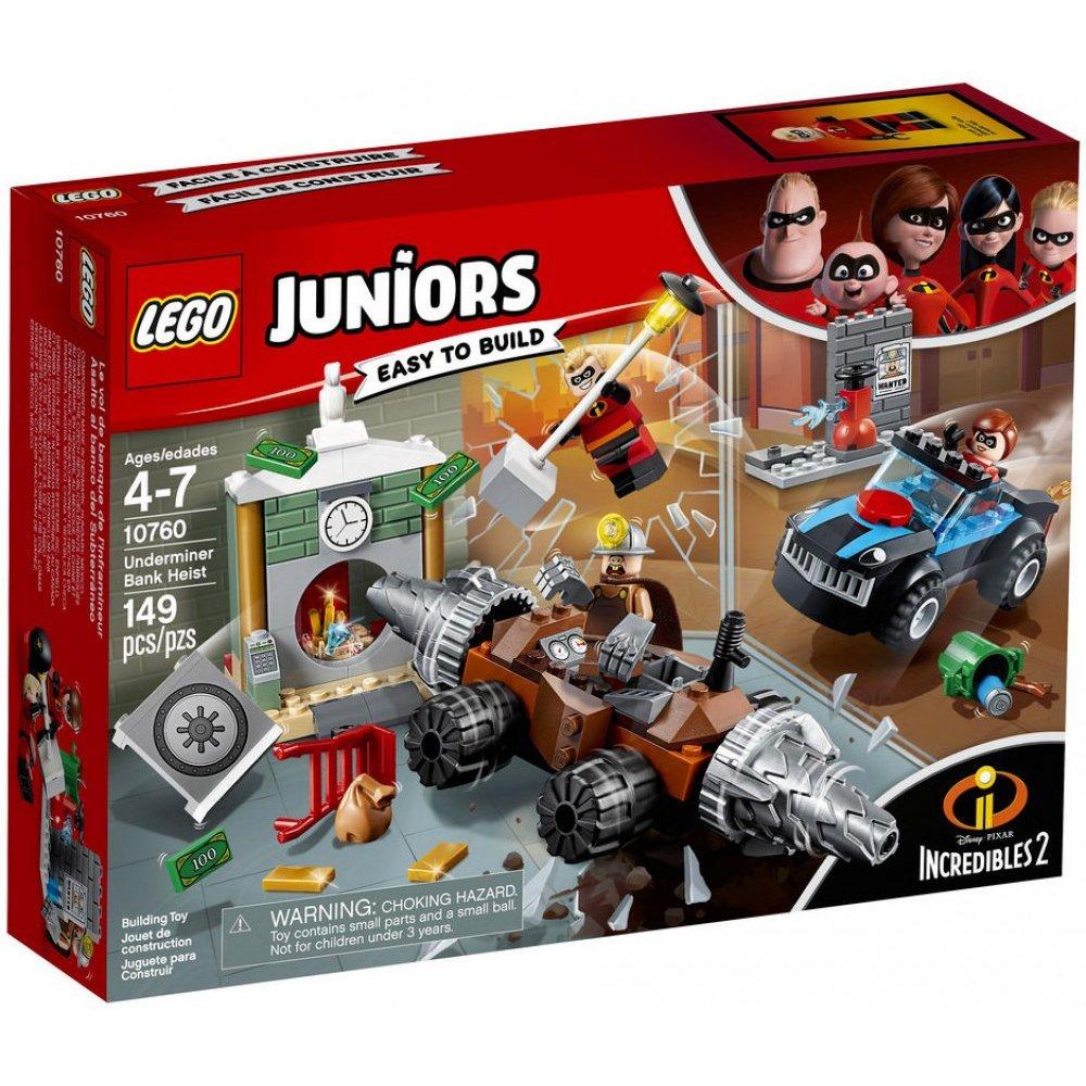 LEGO樂高積木 Juniors 系列 10760 超人特攻隊2 採礦大師銀行搶劫