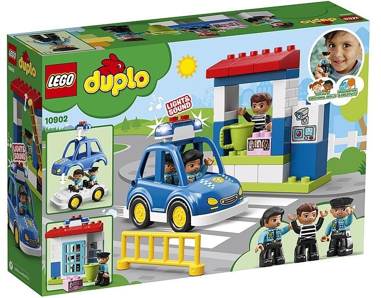 LEGO 樂高積木 DUPLO Town 10902 警察局