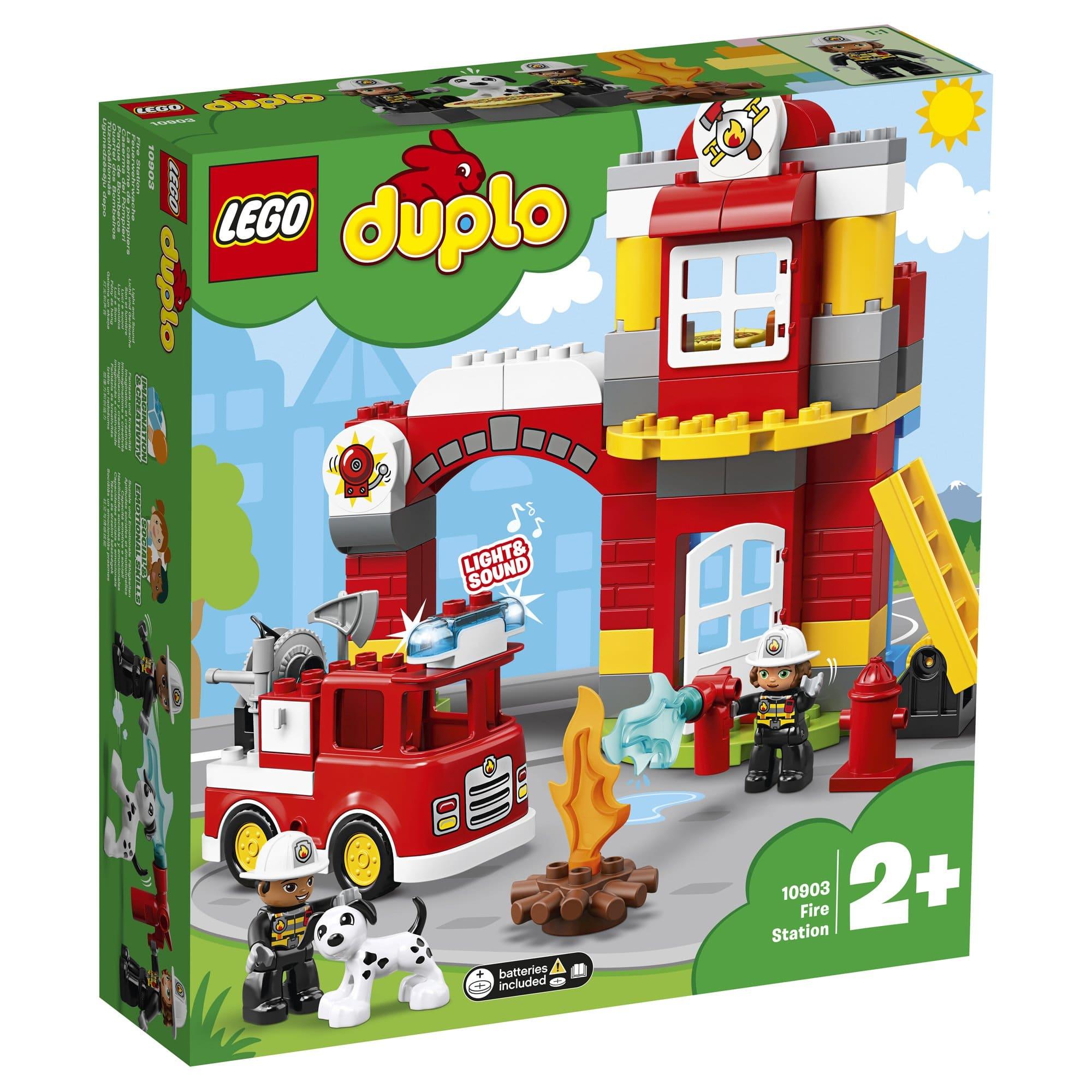 LEGO 樂高積木 DUPLO Town 10903 消防局
