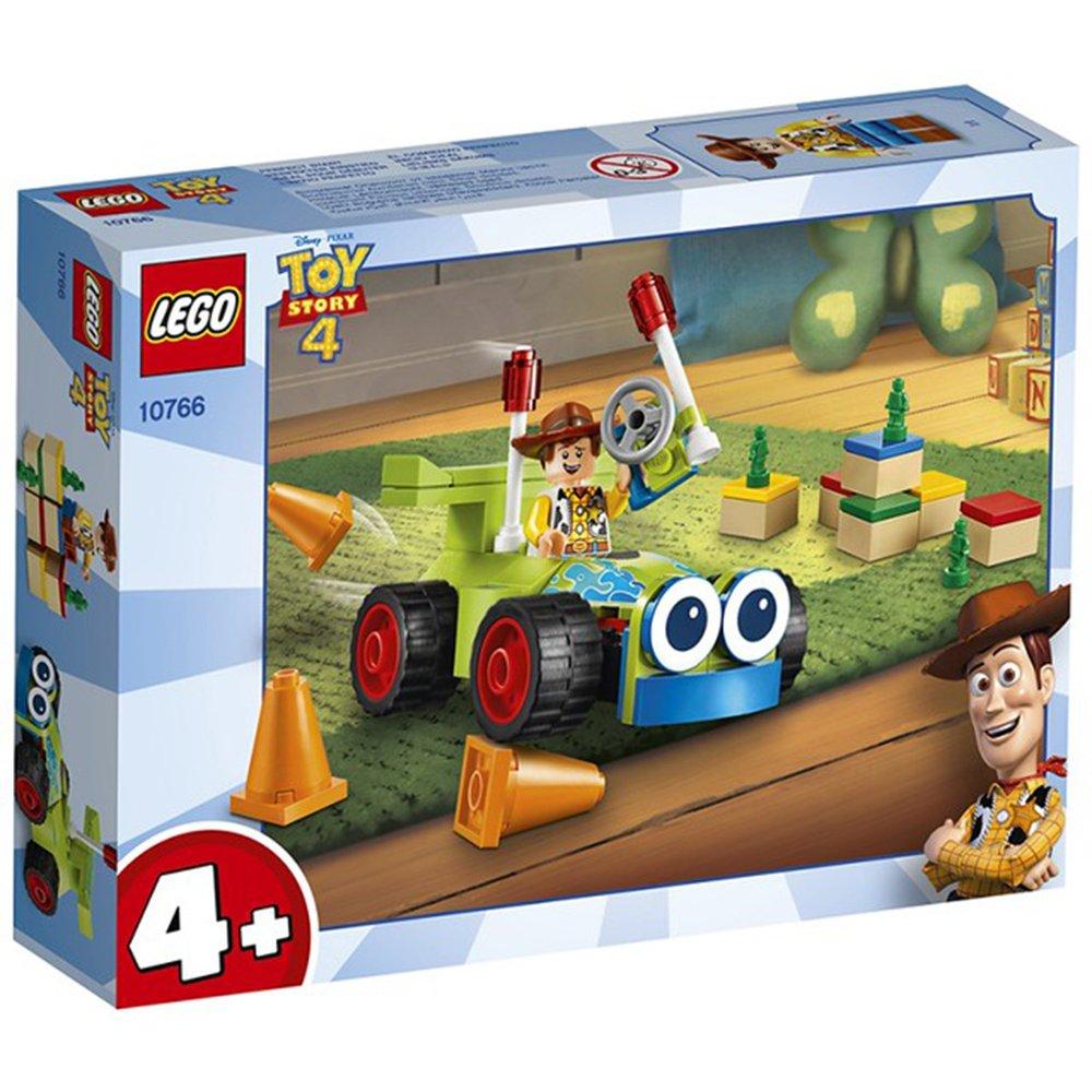 LEGO 樂高積木 Toy Story 玩具總動員4 10766 胡迪與遙控車