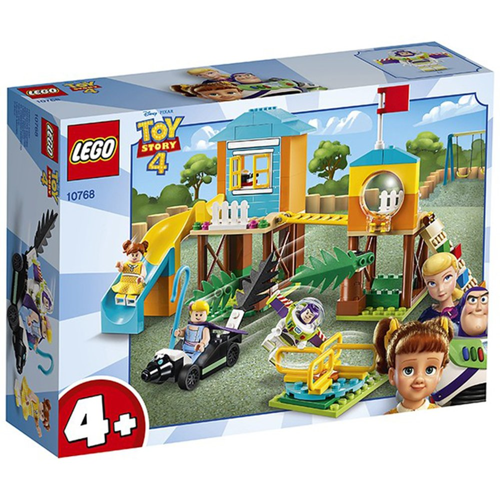 LEGO 樂高積木 Toy Story 玩具總動員4 10768 Buzz & Bo Peep's Playground Adventure