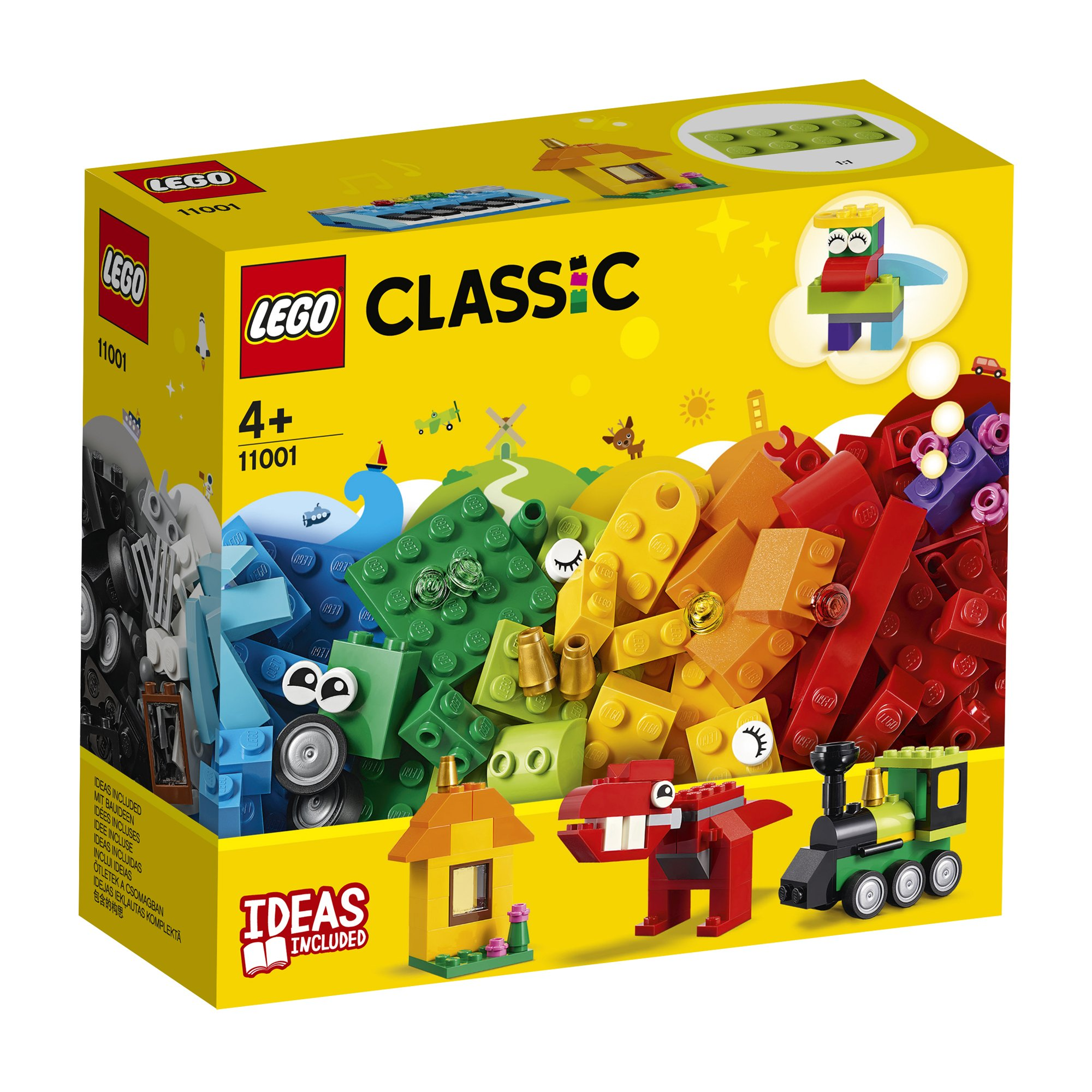 LEGO 樂高積木 Classic 11001 創意顆粒套裝