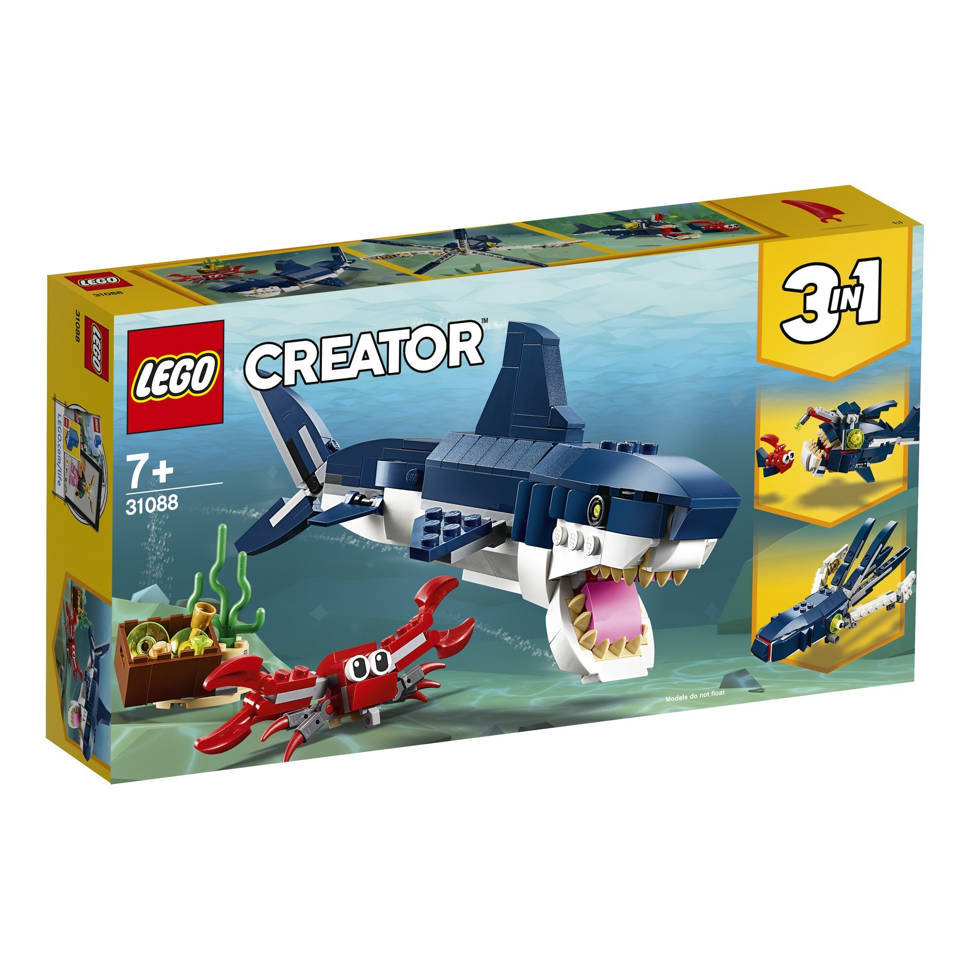 LEGO 樂高積木 Creator系列 31088 深海生物