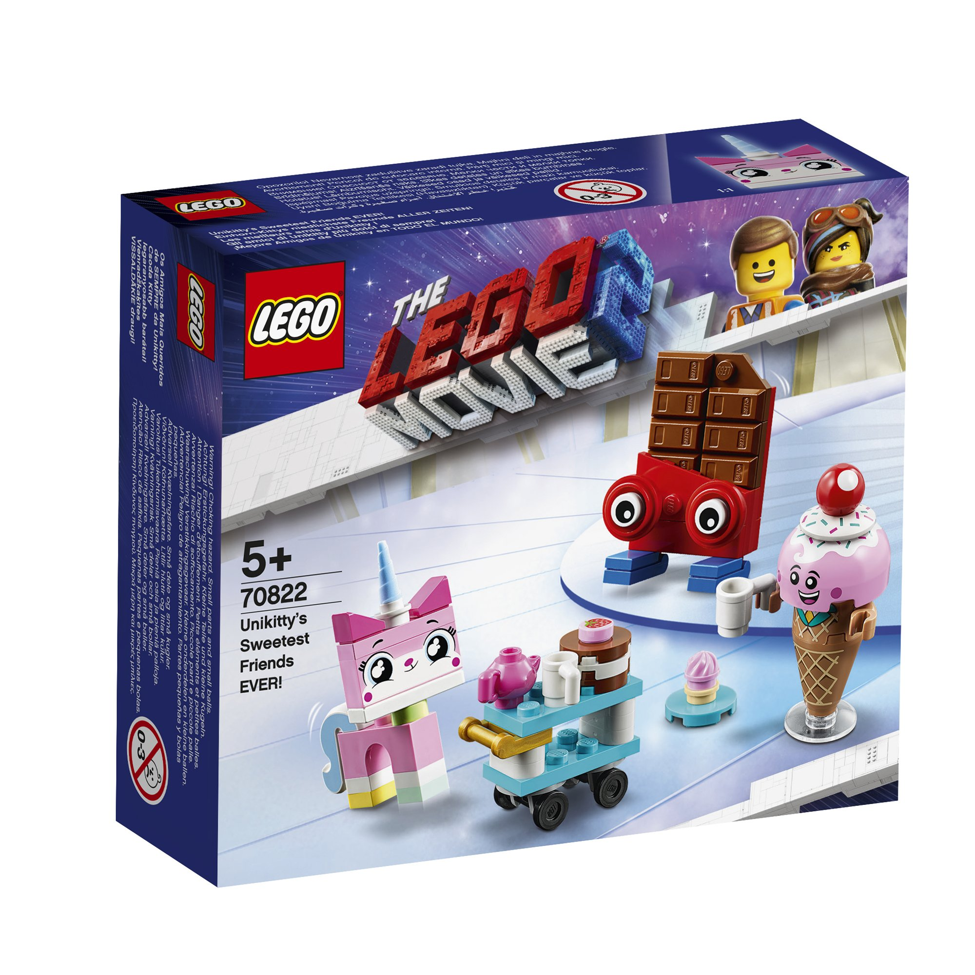 LEGO 樂高積木 LEGO Movie 樂高玩電影2系列 70822 Unikitty's Sweetest Friends EVER!