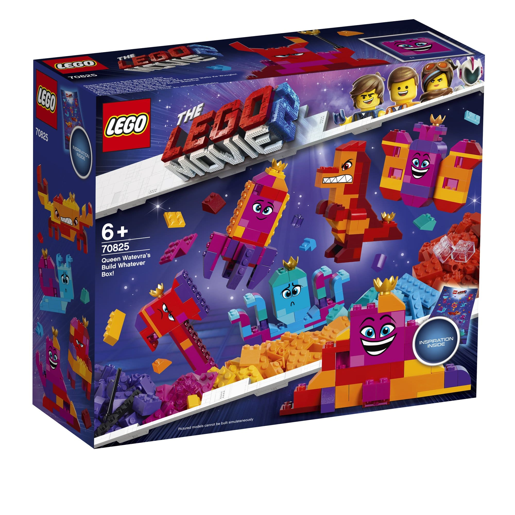 LEGO 樂高積木 LEGO Movie 樂高玩電影2系列 70825 Queen Watevra's Build Whatever Box!