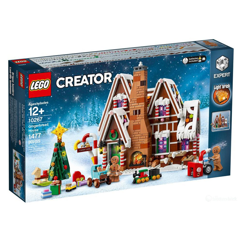 LEGO 樂高積木 Creator Expert系列 10267 薑餅屋