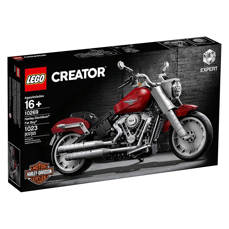 LEGO樂高積木 Creator LT10269 Harley-Davidson® Fat Boy® 哈雷摩托車