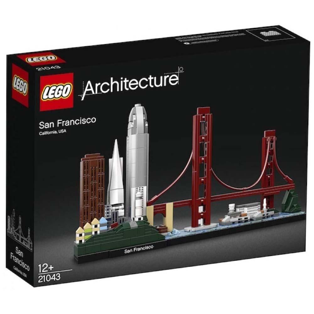 LEGO 樂高積木 Architecture 建築系列 21043 舊金山