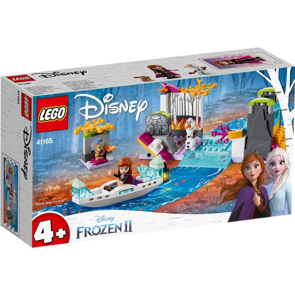 LEGO 樂高積木 Disney Princess 41165 冰雪奇緣2 安娜獨木舟探險