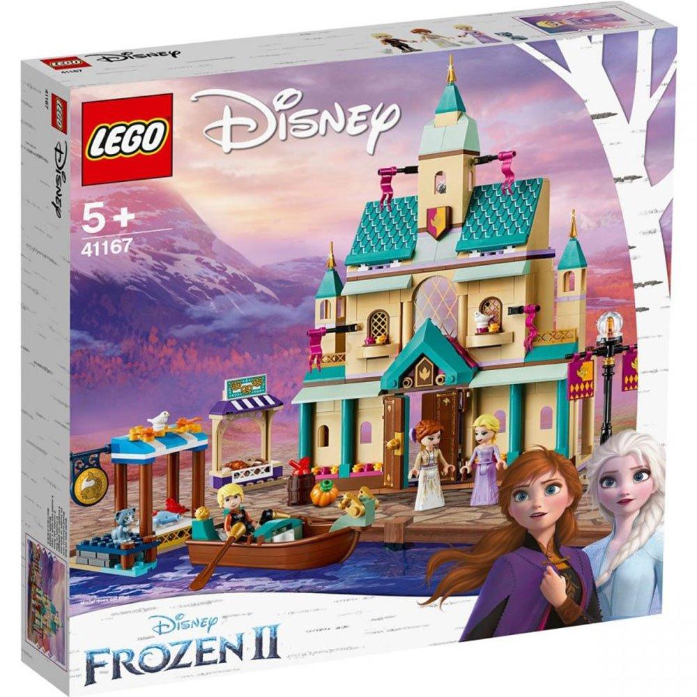 LEGO 樂高積木 Disney Princess 41167 冰雪奇緣2 艾倫戴爾城堡村庄