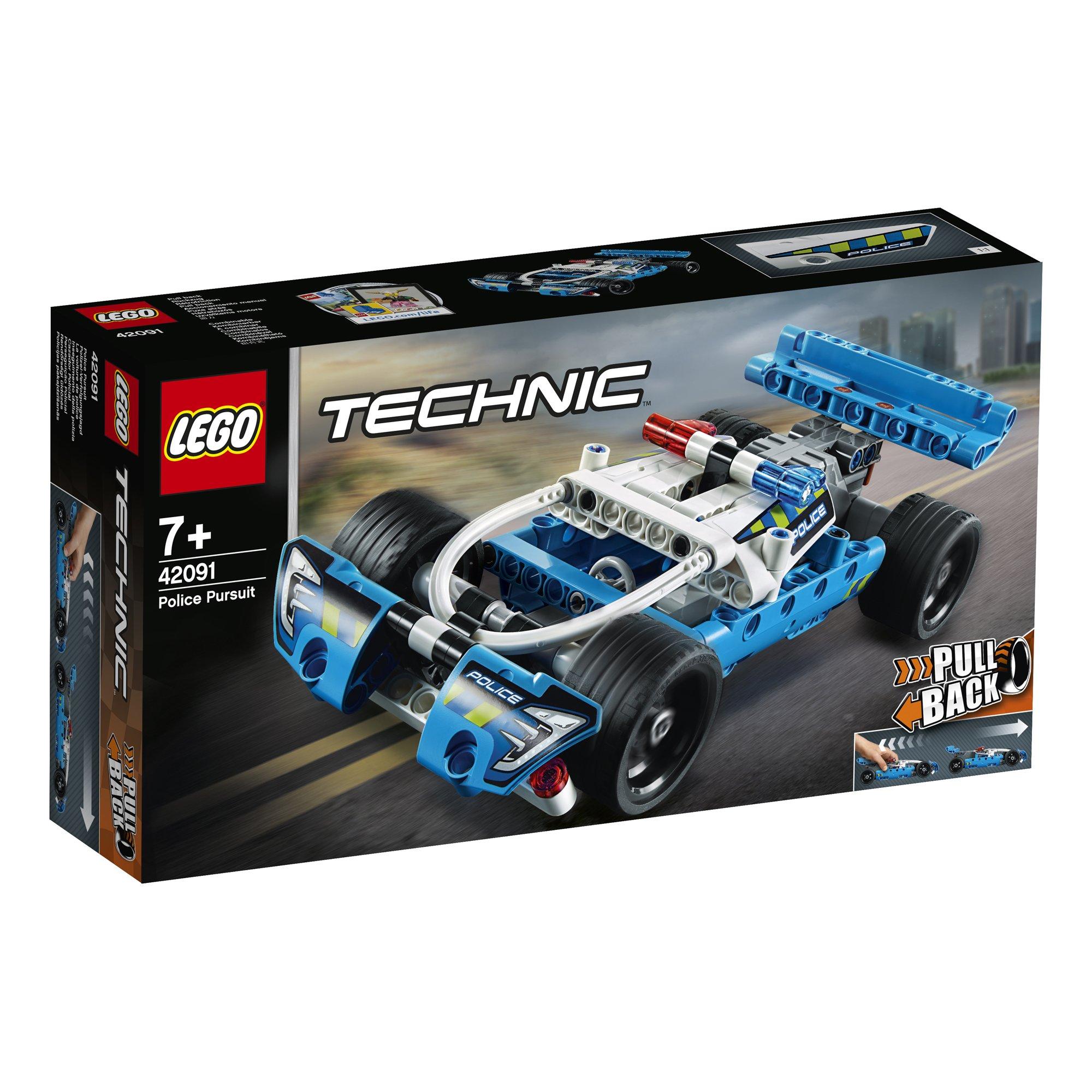 LEGO 樂高積木 Technic 42091 員警追逐車