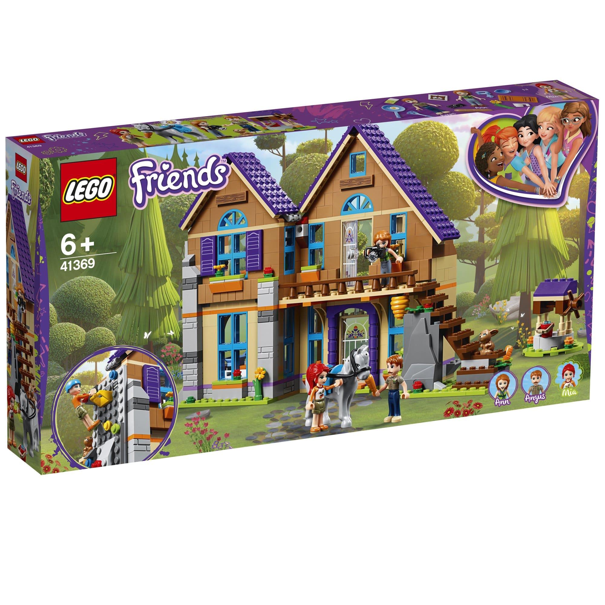 LEGO 樂高積木 Friends 41369 米雅的家