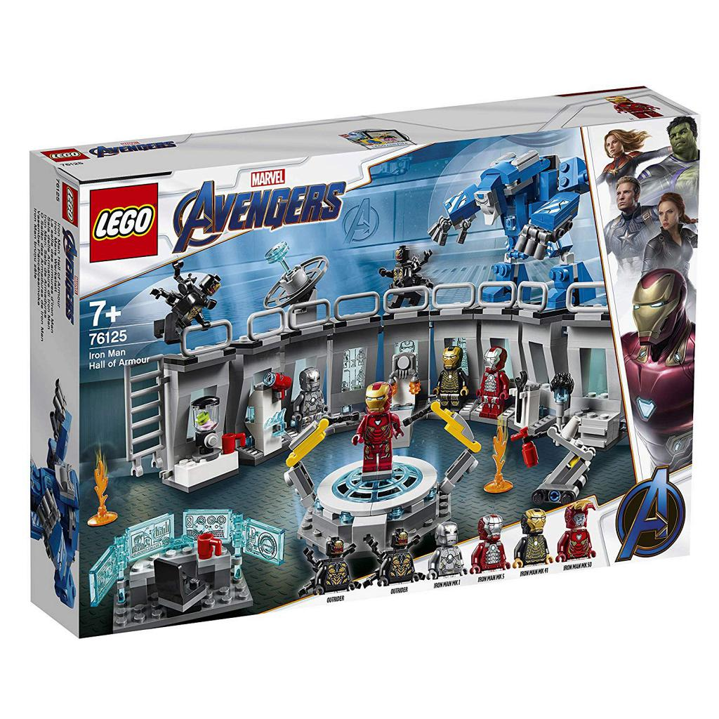 LEGO 樂高積木 Super Heroes 76125 Iron Man Hall of Armor
