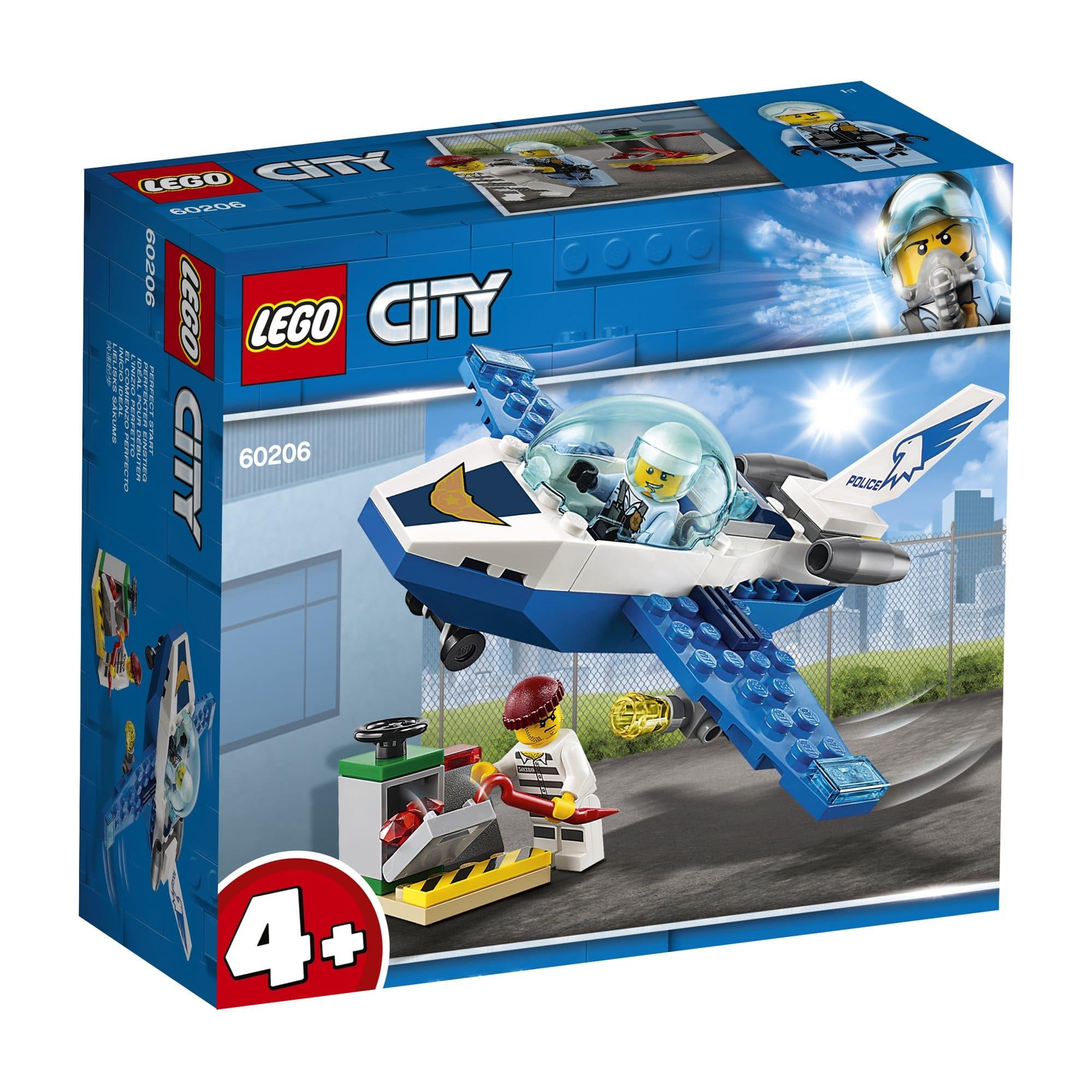 LEGO 樂高積木 City Police 60206 航警巡邏機