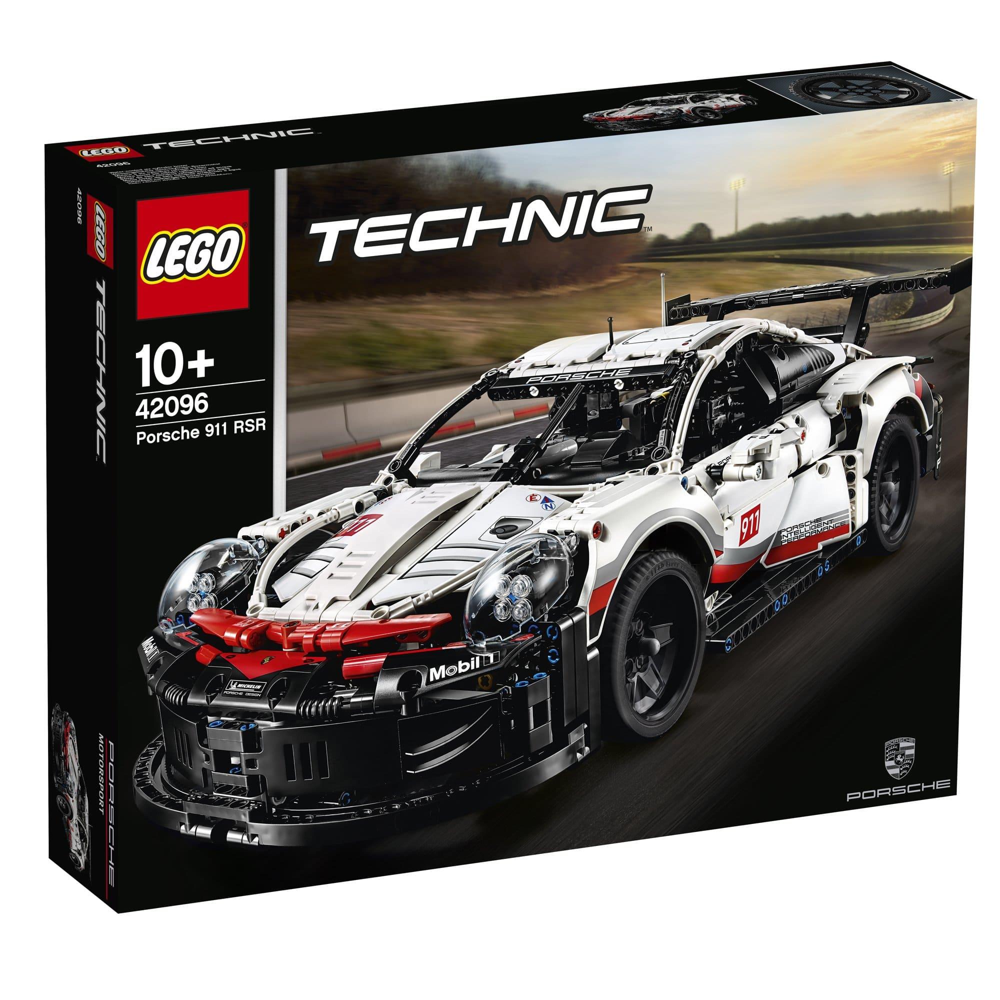 LEGO 樂高積木 Technic 42096 Porsche 911 RSR