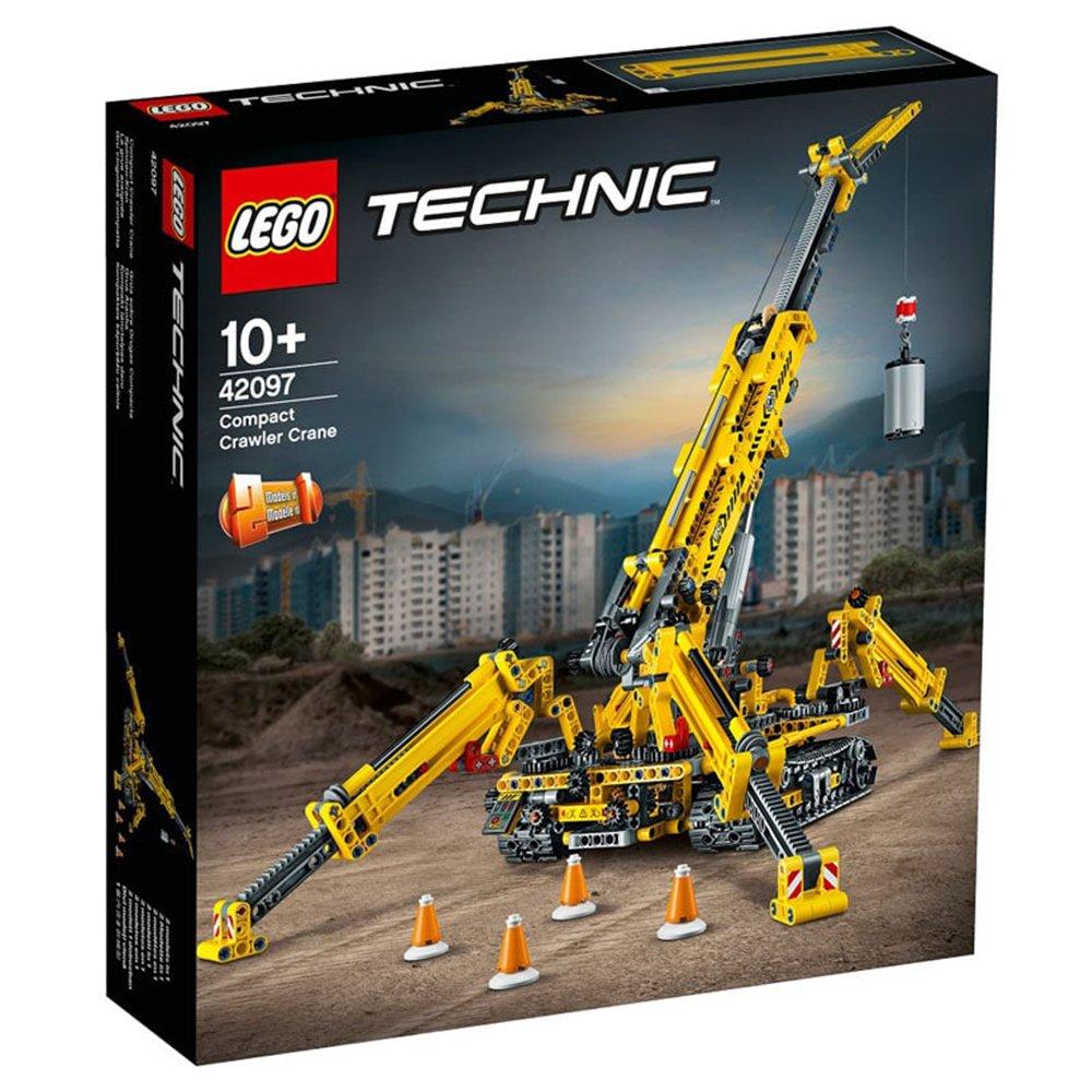 LEGO 樂高積木 Technic 42097 小型履帶起重機