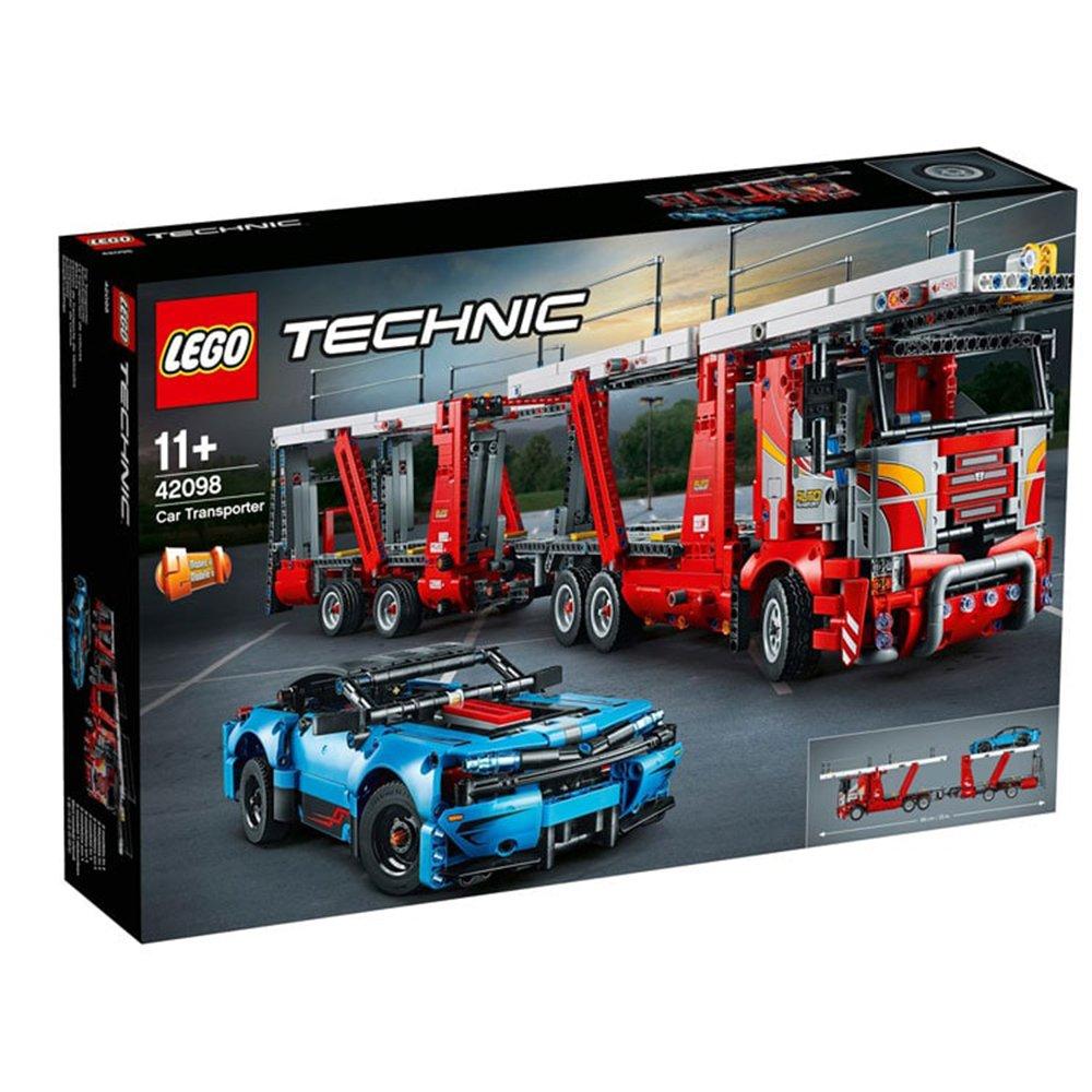 LEGO 樂高積木 Technic 42098 汽車運輸車