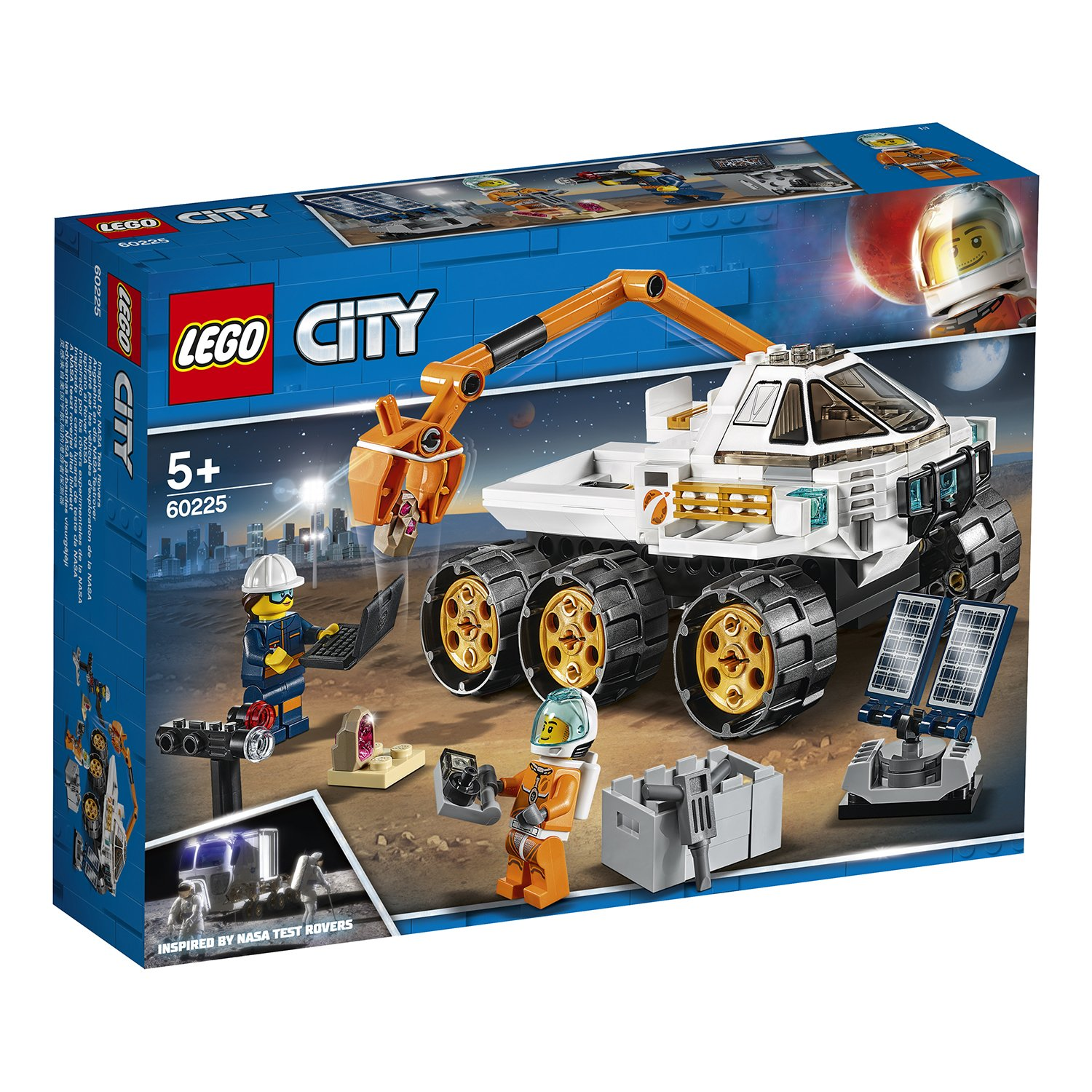 LEGO樂高積木 City Space Port系列 60225 太空基地探測車