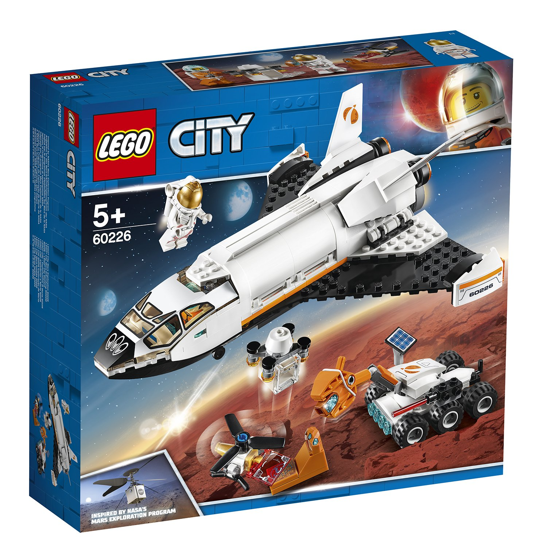 LEGO樂高積木 City Space Port系列60226 火星探究太空梭