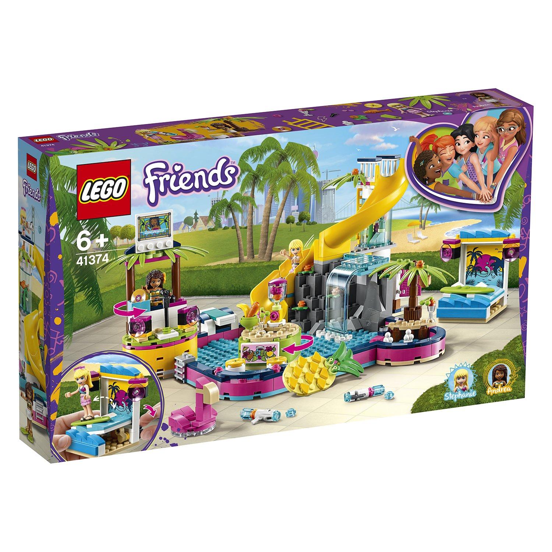 LEGO樂高積木 Friends 41374 安德里亞的泳池派對