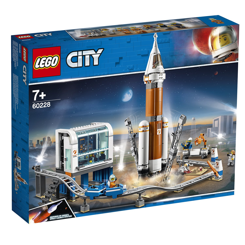 LEGO樂高積木 City Space Port系列 60228 重型火箭及發射控制