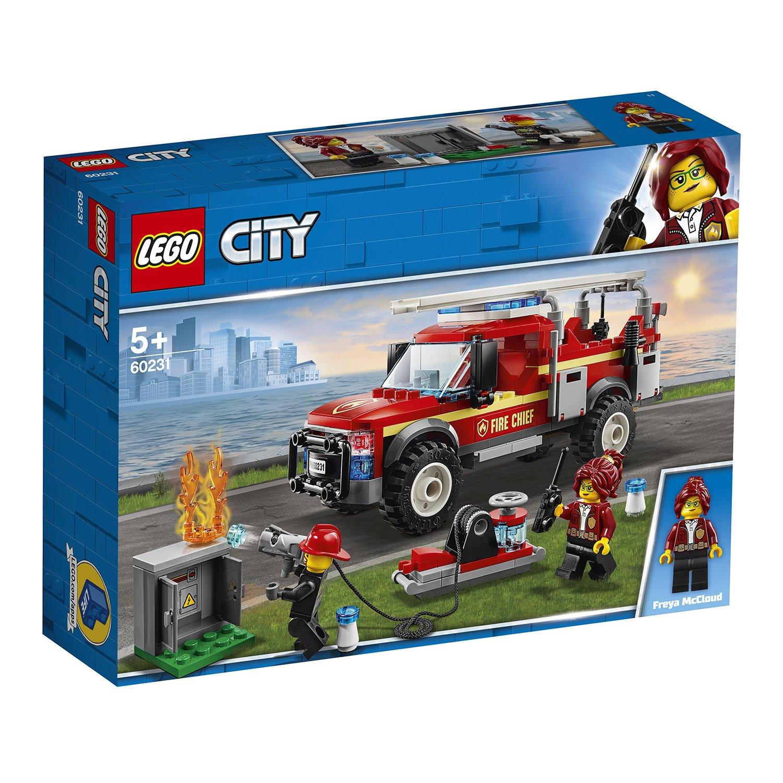 LEGO樂高積木 City Town系列 60231 消防隊長救援卡車