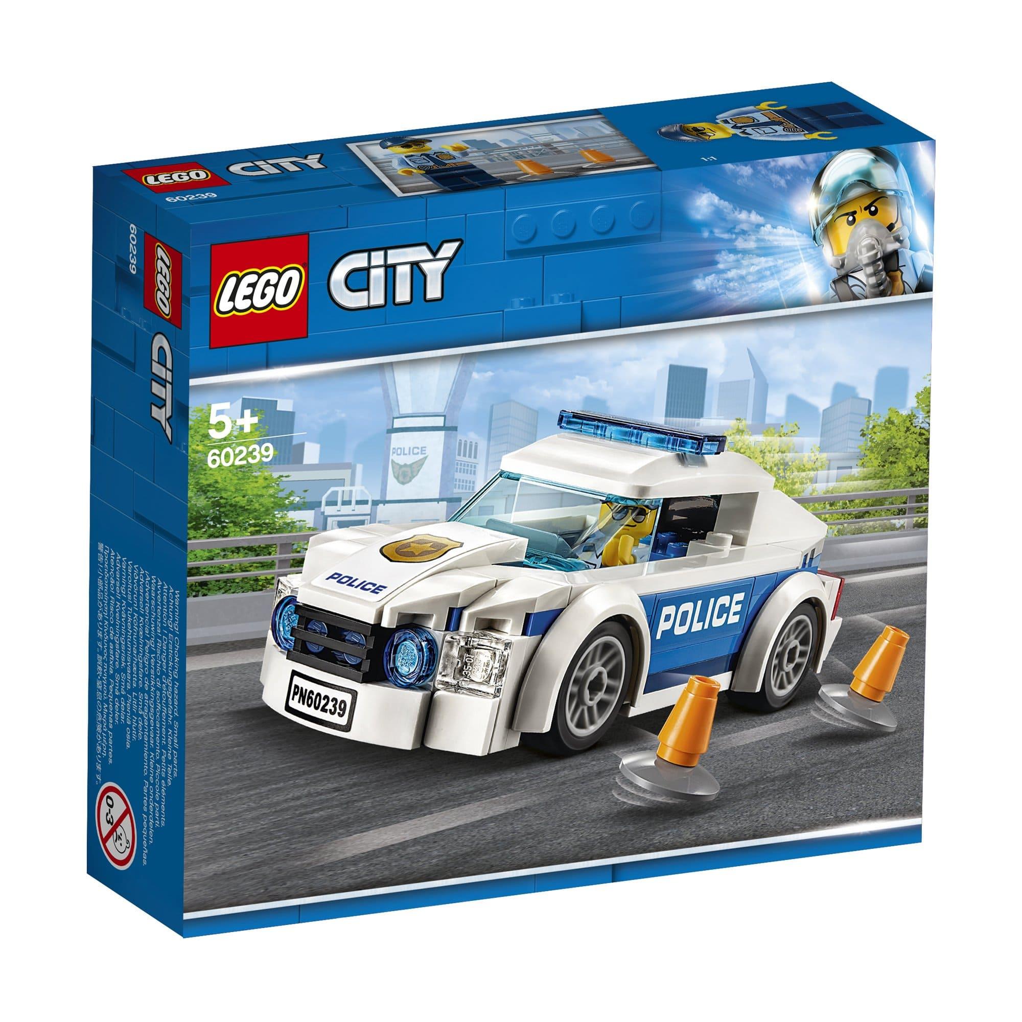 LEGO 樂高積木 City Police 60239 警察巡邏車
