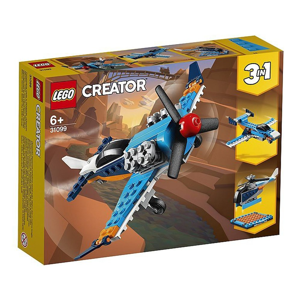 LEGO 樂高積木 Creator系列 31099 螺旋槳飛機