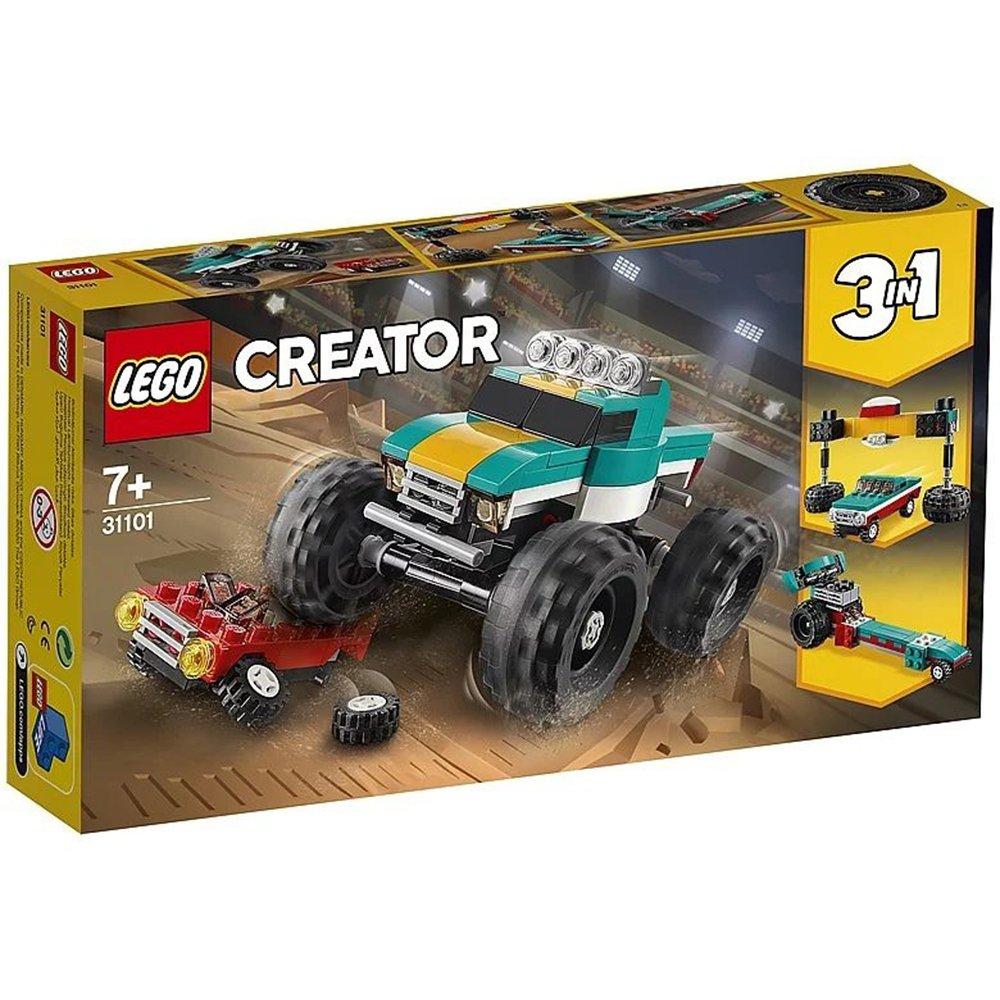 LEGO 樂高積木 Creator系列 31101 怪獸卡車