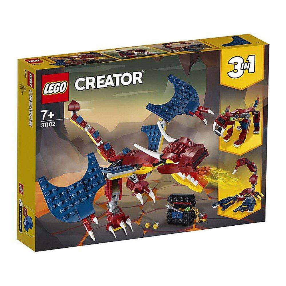 LEGO 樂高積木 Creator系列 31102 火龍