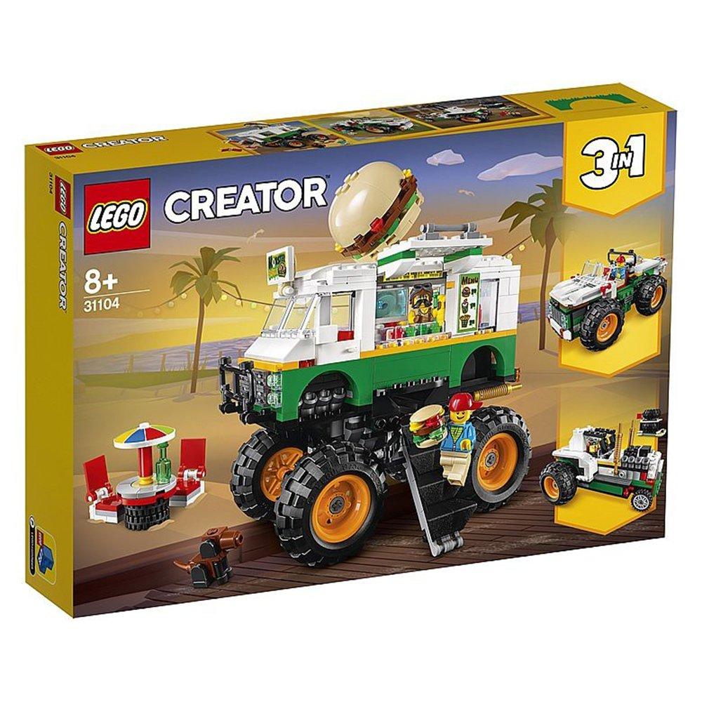 LEGO 樂高積木 Creator系列 31104 怪獸漢堡卡車