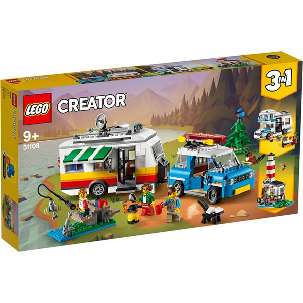 LEGO 樂高積木 Creator系列 31108 家庭假期露營車