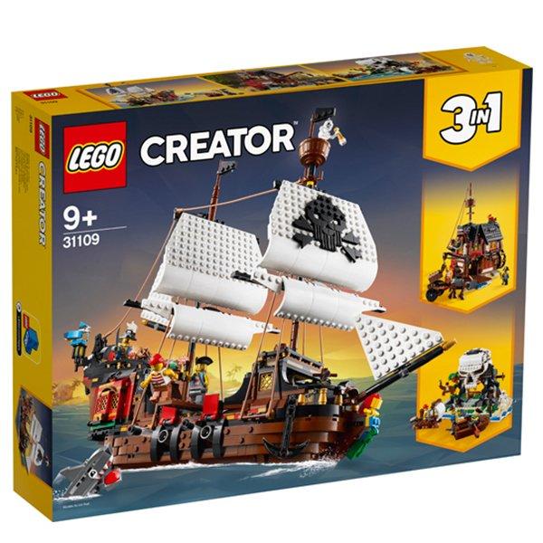 樂高積木 LEGO Creator系列 31109 海盜船