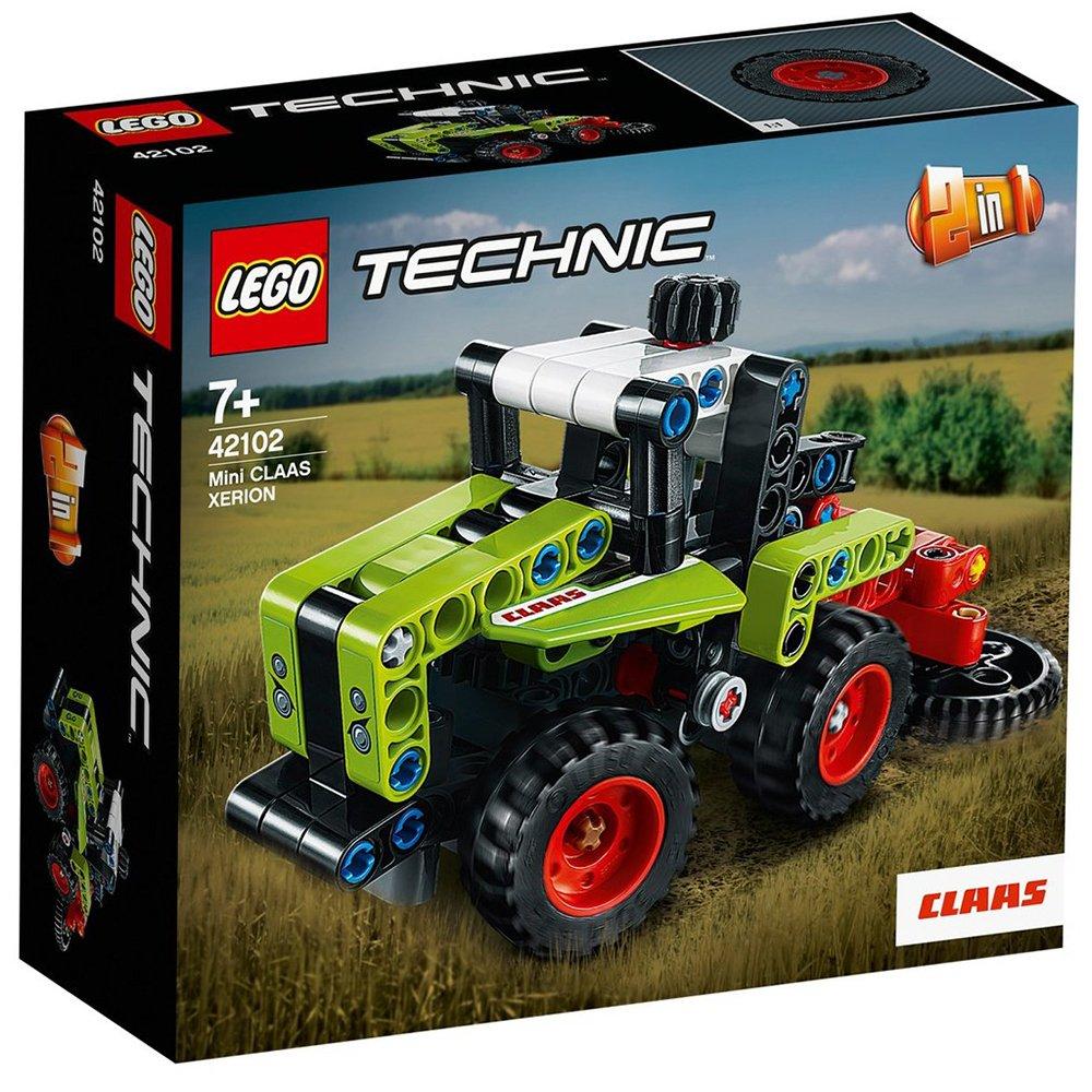 LEGO 樂高積木 Technic 42102 Mini CLAAS XERION