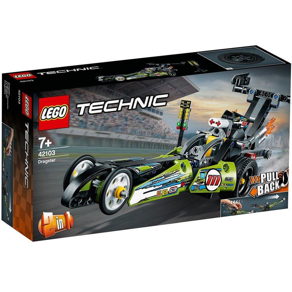 LEGO 樂高積木 Technic 42103 直線加速賽車