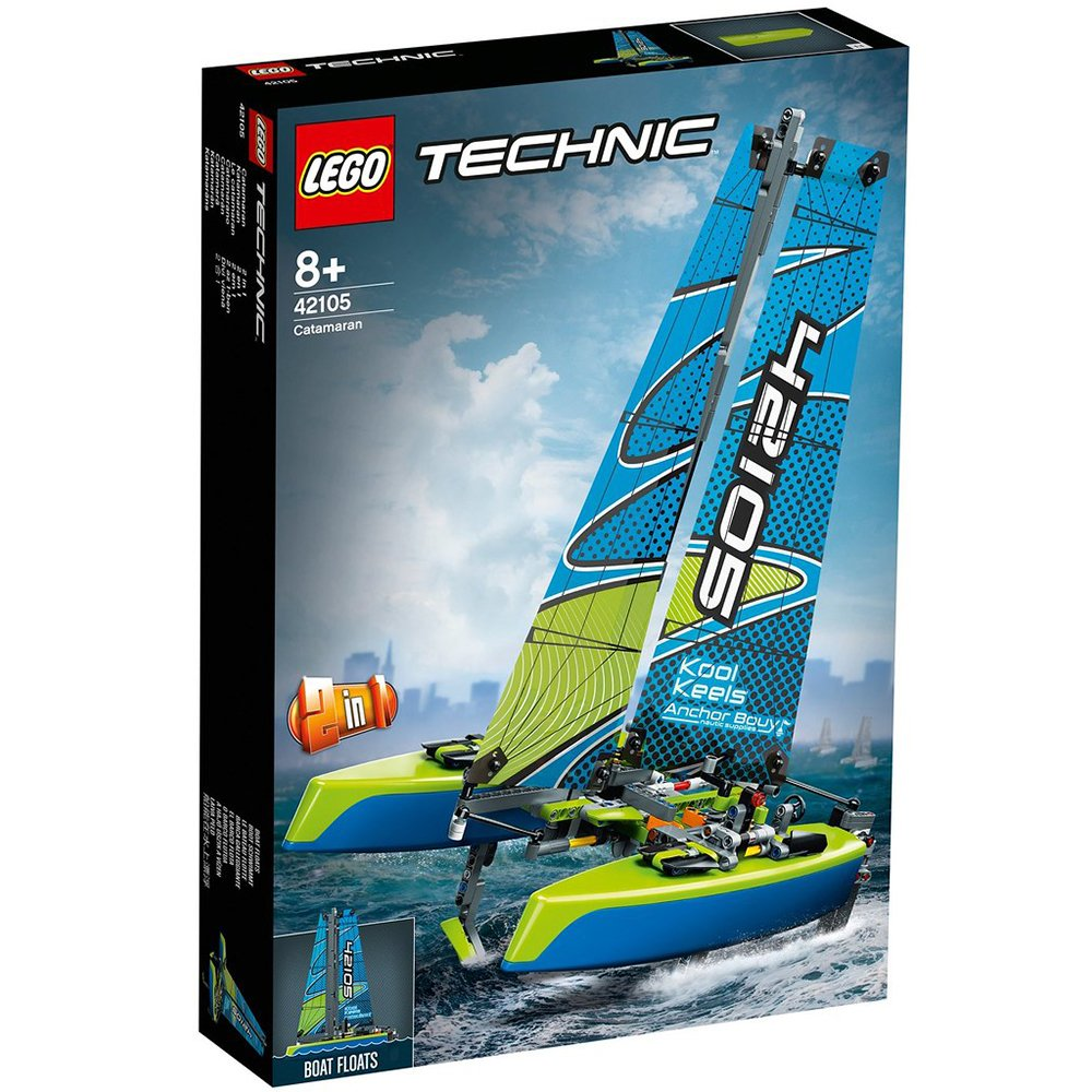 LEGO 樂高積木 Technic 42105 雙體帆船