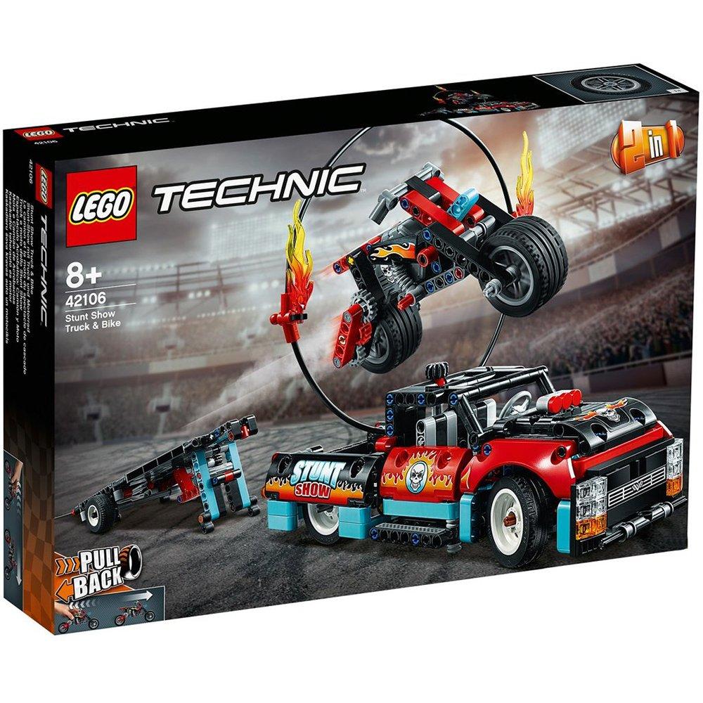 LEGO 樂高積木 Technic 42106 特技表演卡車 & 摩托車