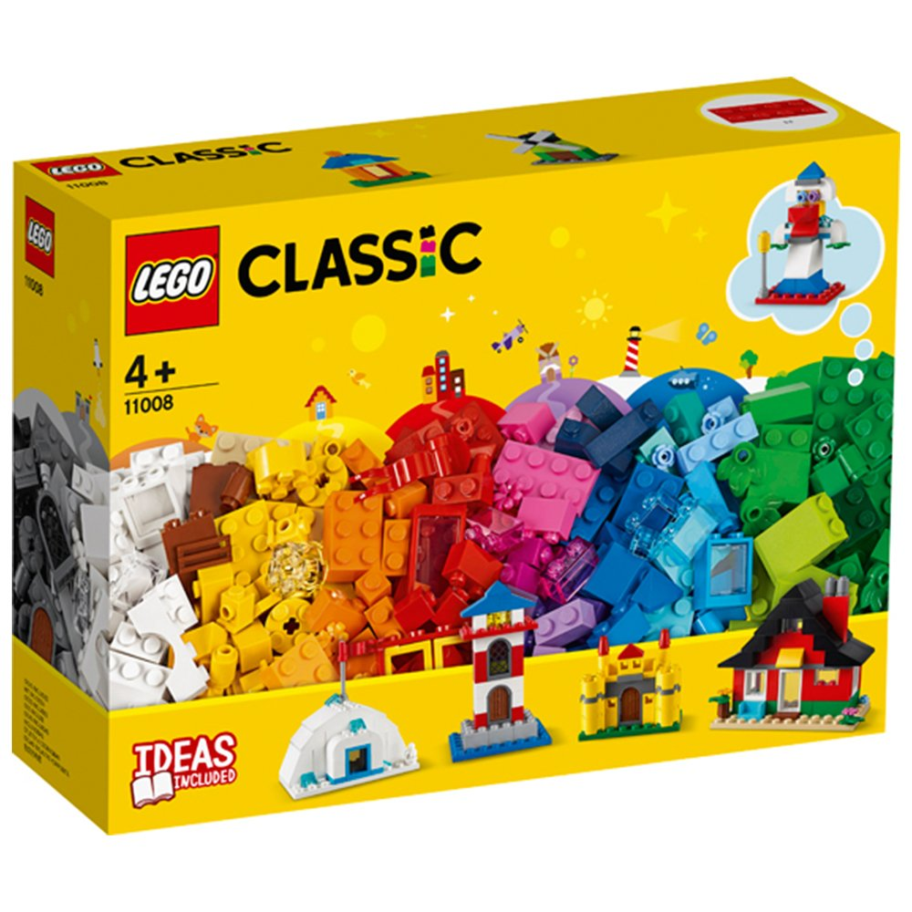 LEGO樂高積木LEGO Classic 11008 顆粒與房屋