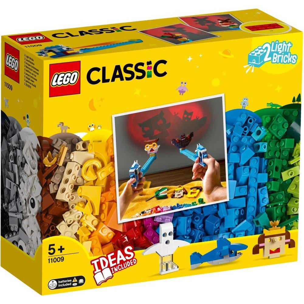 LEGO樂高積木LEGO Classic 11009 顆粒與燈光