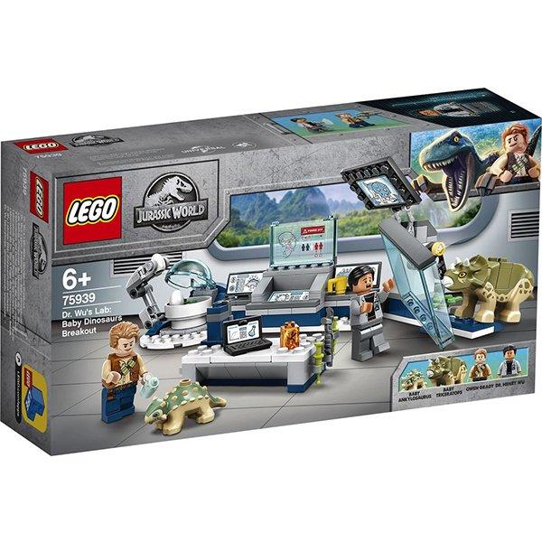 LEGO 樂高積木 Jurassic World 恐龍系列 75939 吳博士的實驗室 恐龍寶寶逃脫